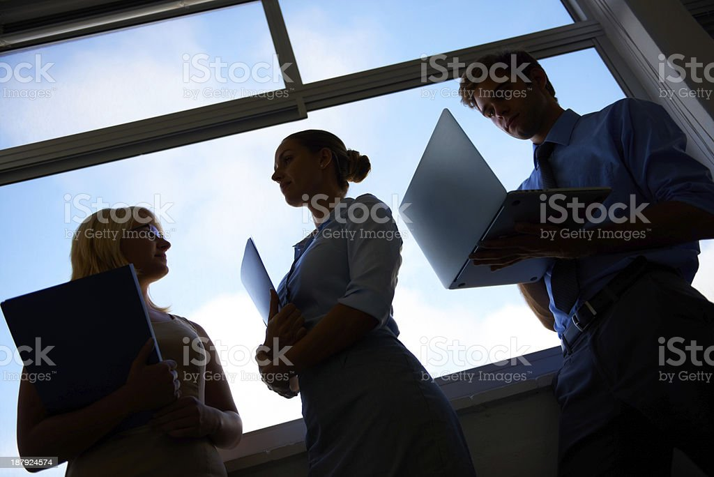 On their way to the top! royalty-free stock photo