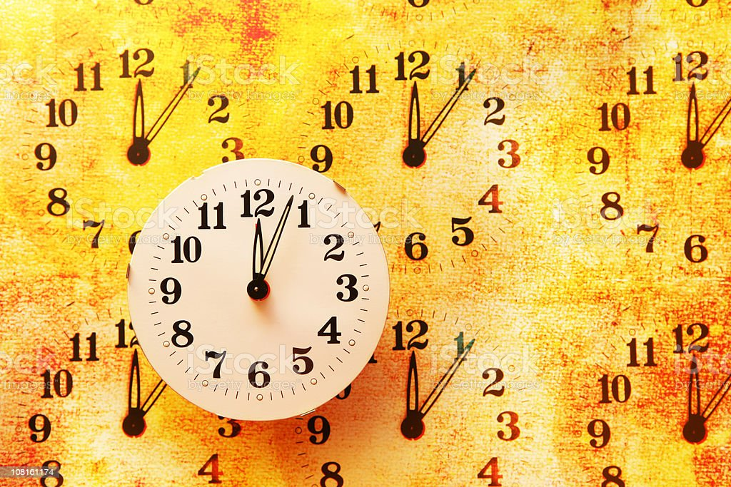 On time royalty-free stock photo