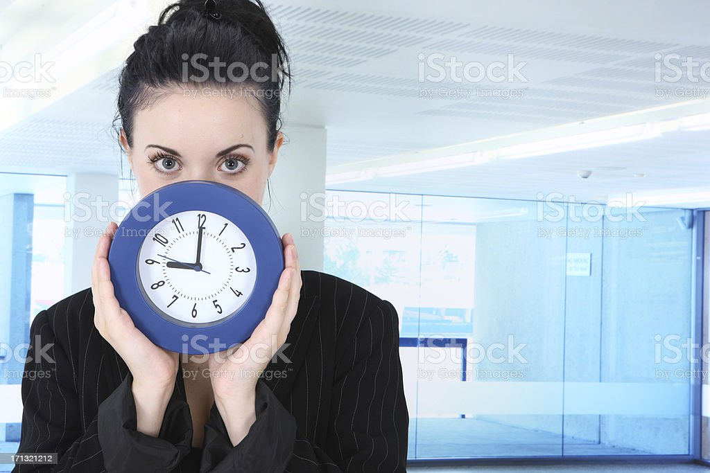 On Time stock photo