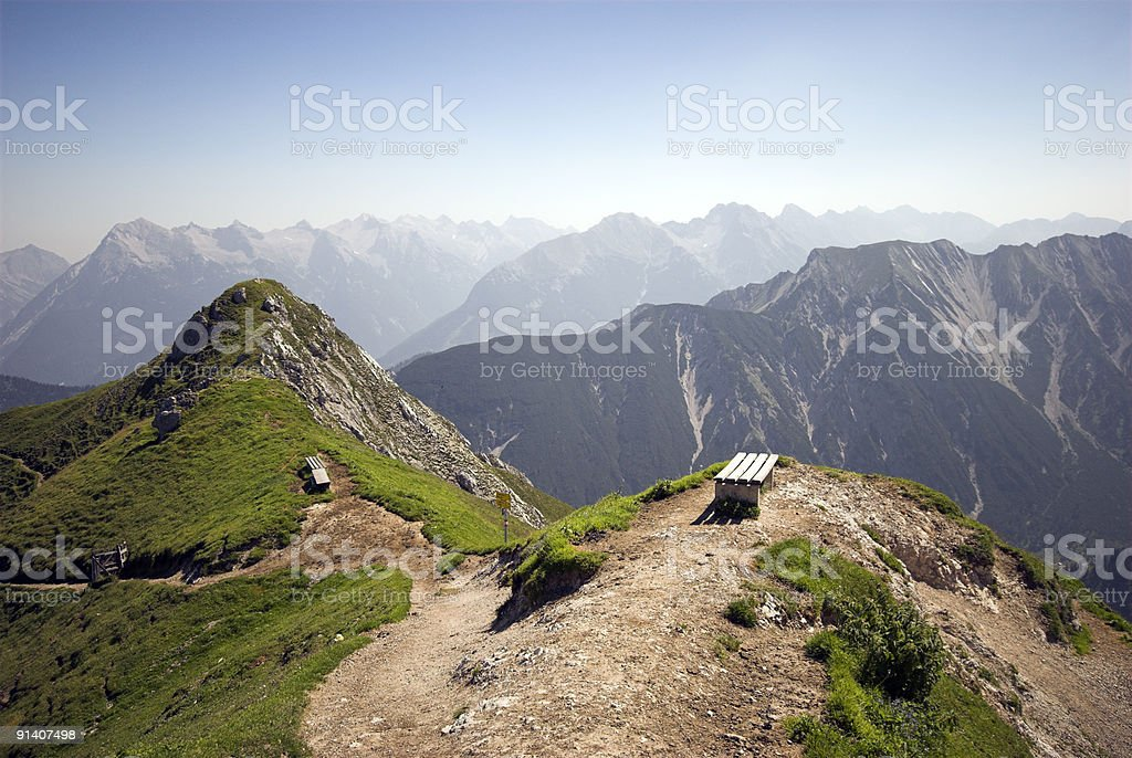 On Top in Austria royalty-free stock photo