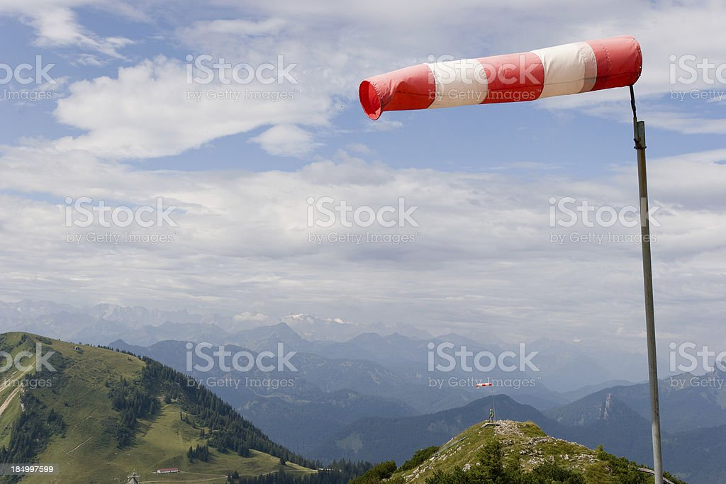 on top of mountain Wallberg stock photo