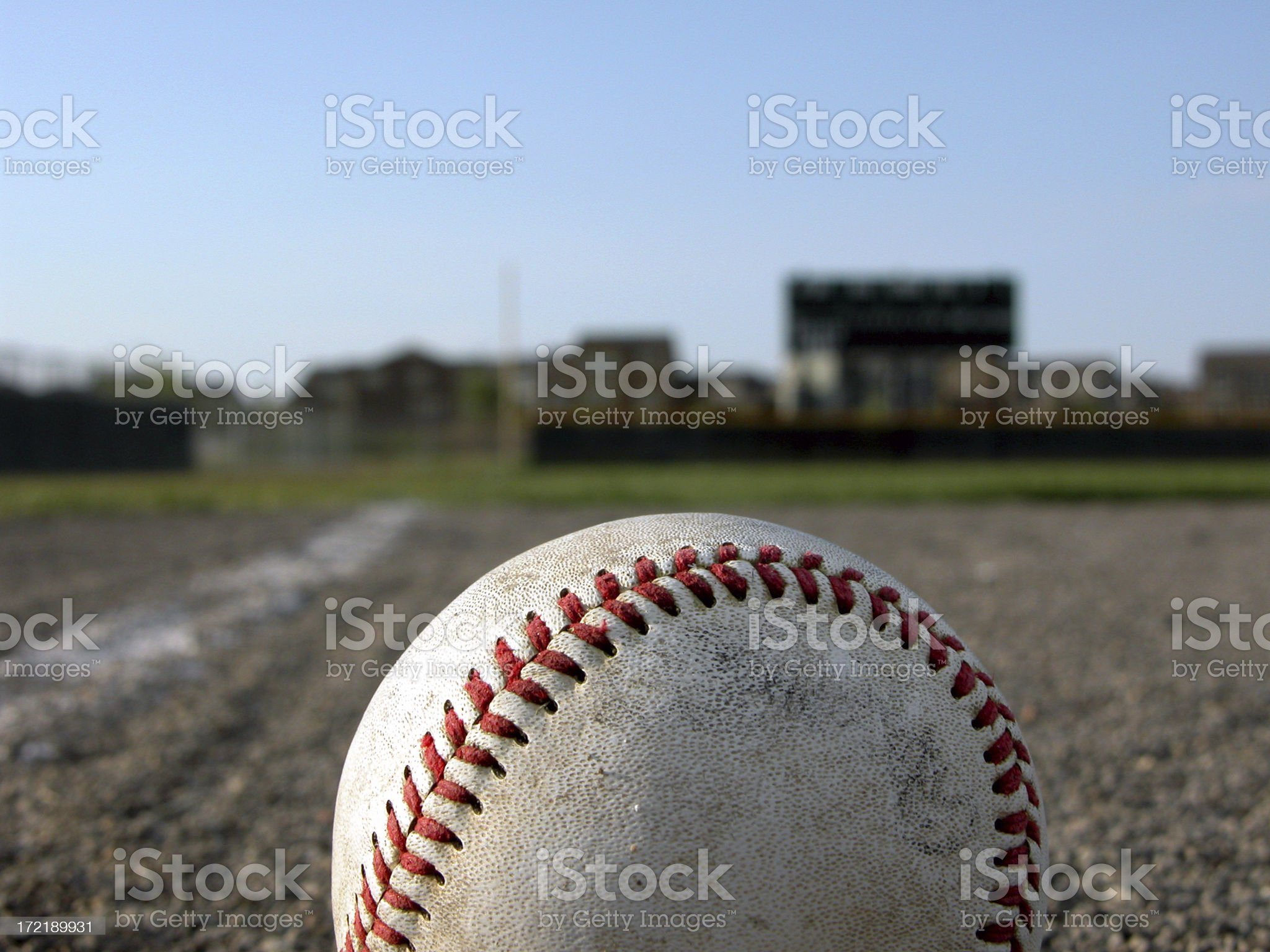 On top of the Ball royalty-free stock photo
