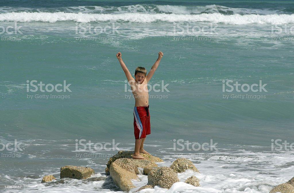 Auf das Meer Lizenzfreies stock-foto