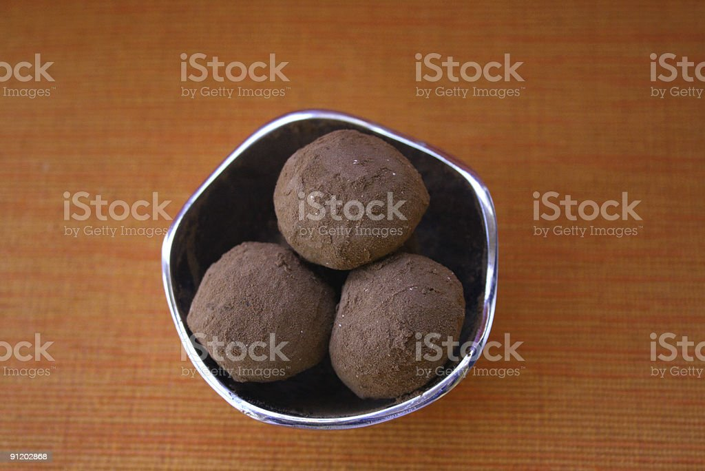 on top of truffles royalty-free stock photo