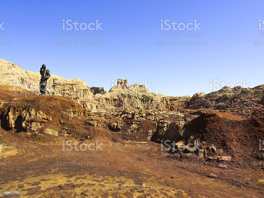 On watch royalty-free stock photo