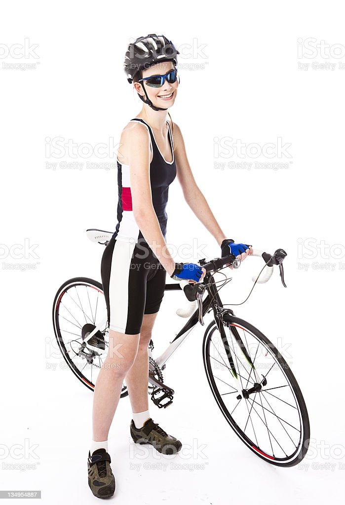 On yer bike royalty-free stock photo