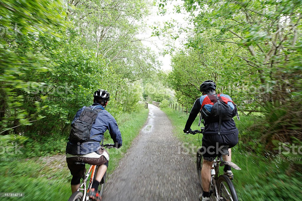 On your bike royalty-free stock photo