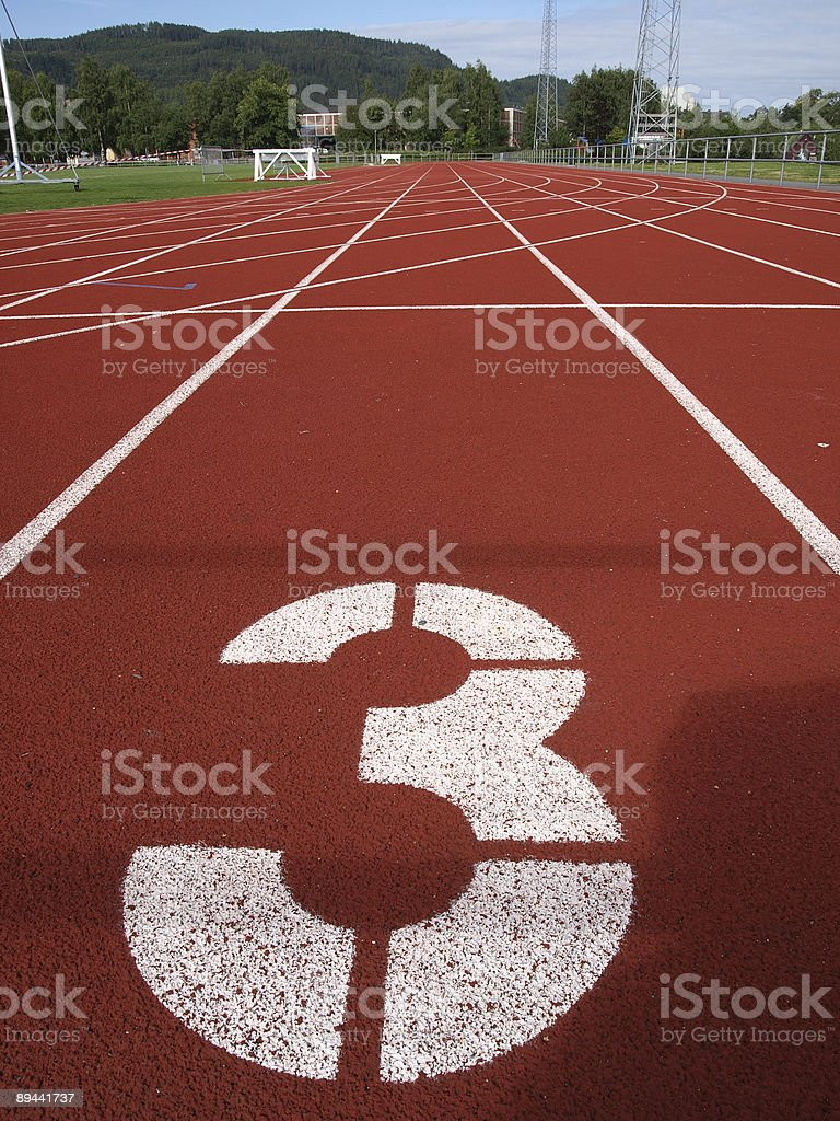 On your marks... royalty-free stock photo