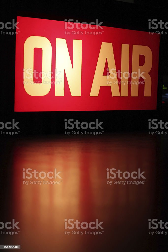 On-Air Vertical royalty-free stock photo