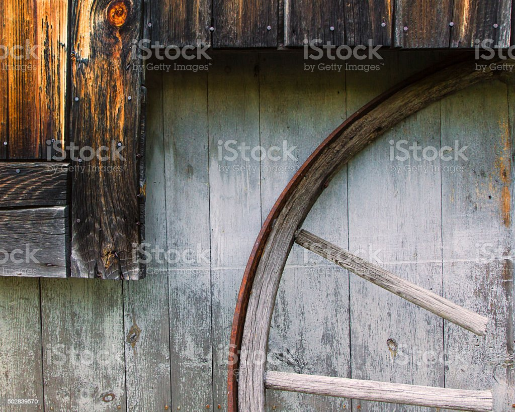 Once A Wheel stock photo