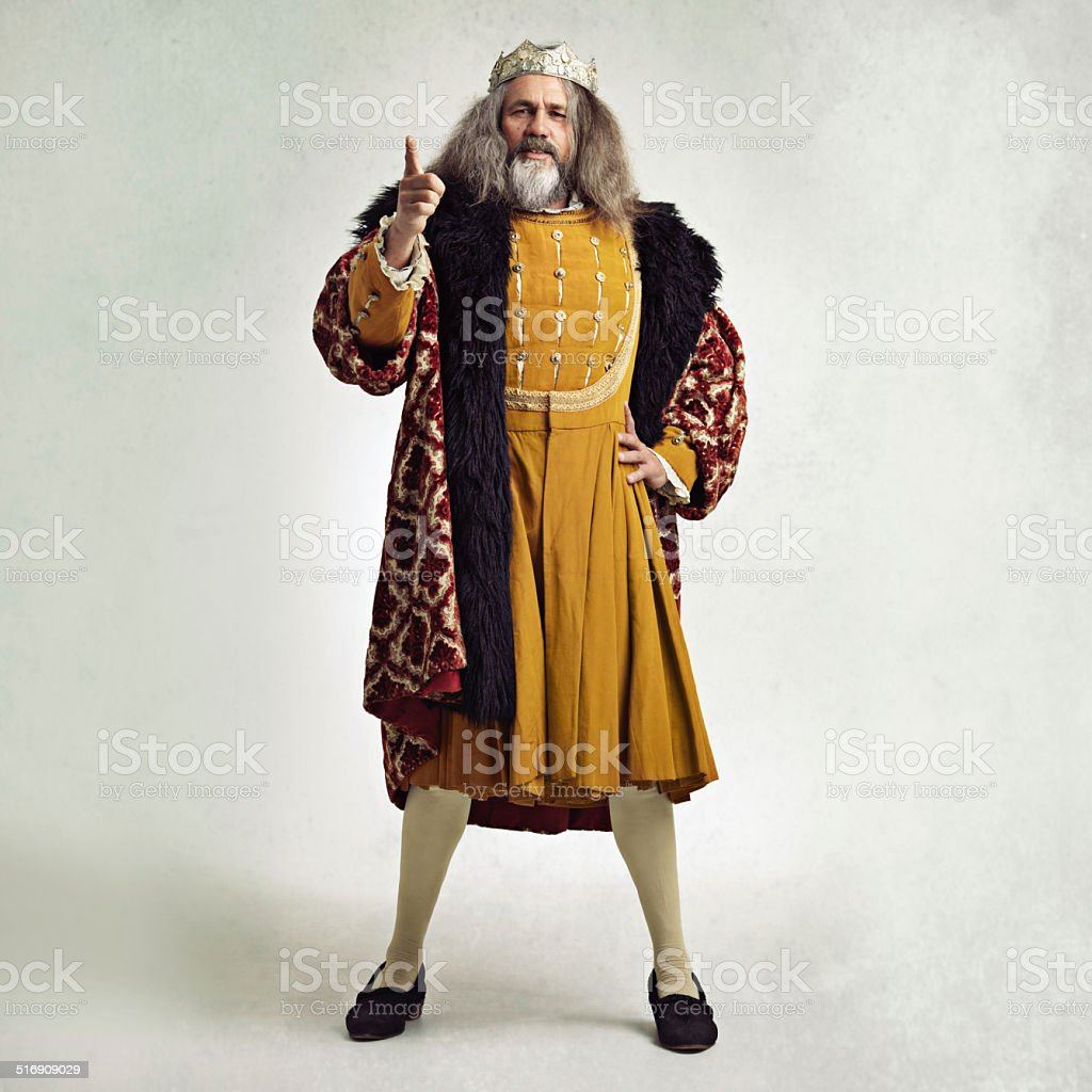 Once, I too was...rich! stock photo
