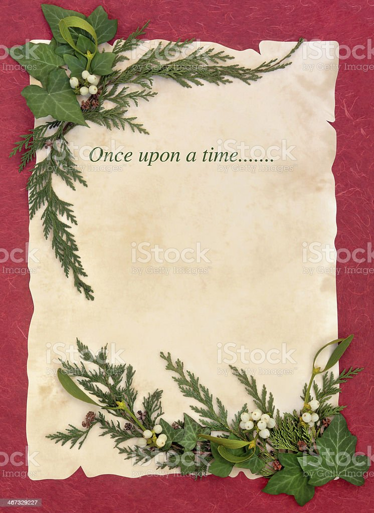 Once Upon a Time royalty-free stock photo