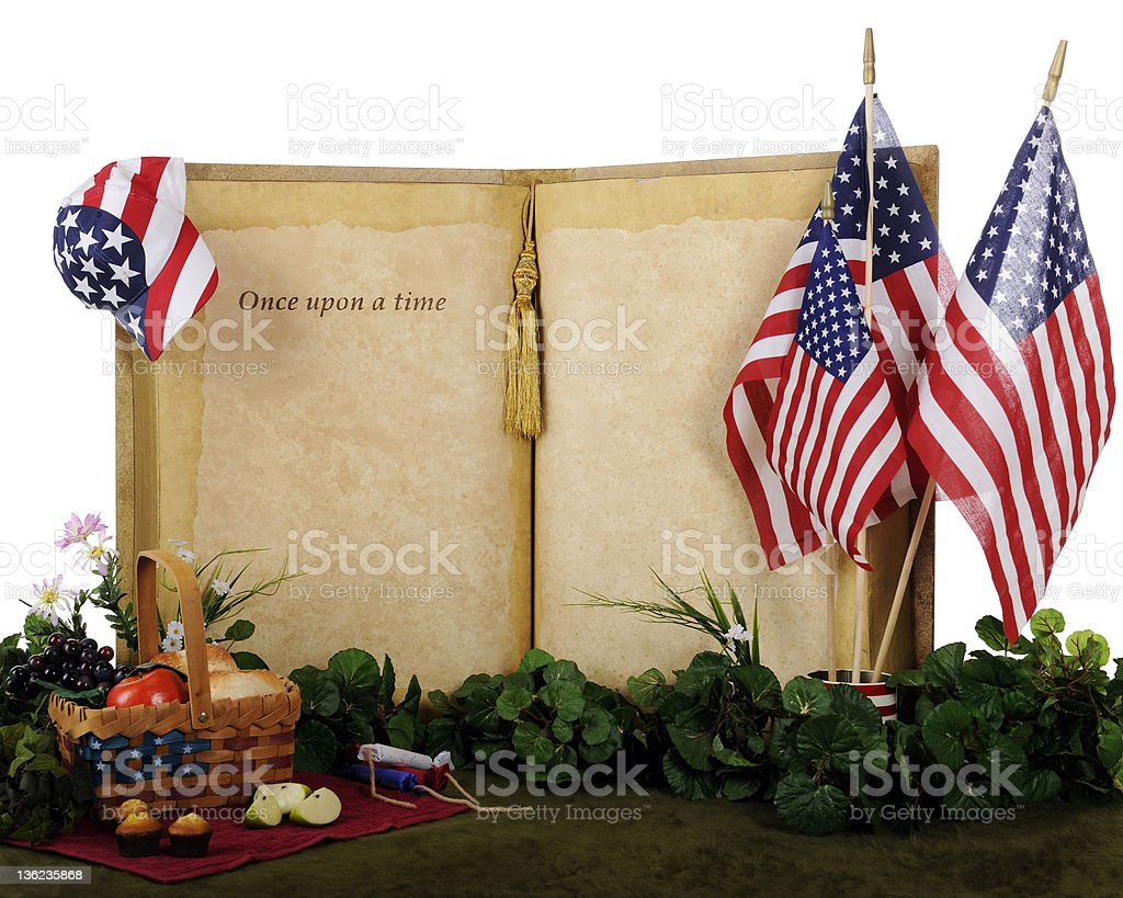 Once Upon an Independence Day royalty-free stock photo