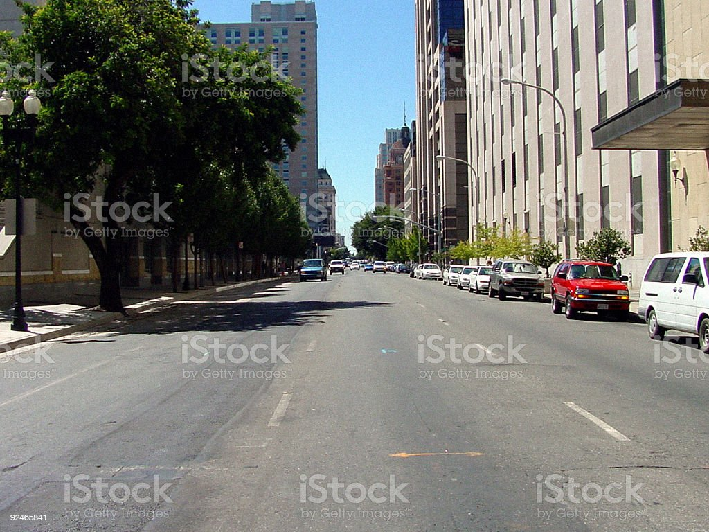 oncoming traffic royalty-free stock photo