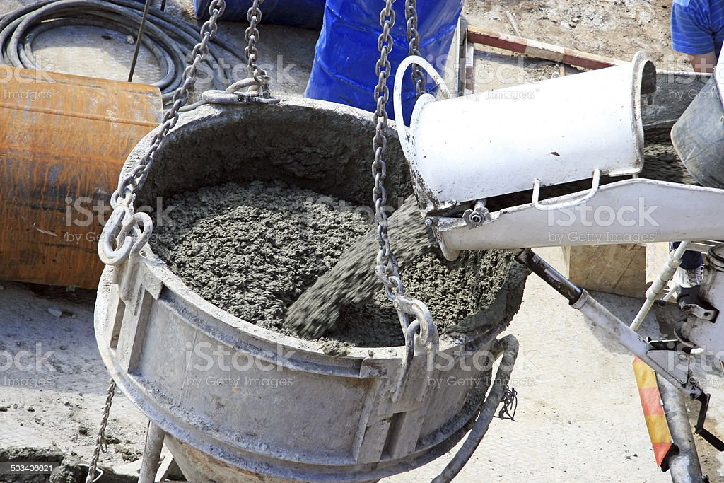 ?oncrete mixer stock photo