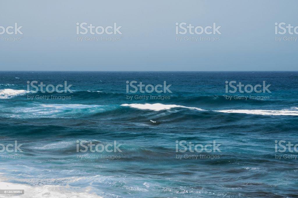 Onde del mare, Gran Canaria - Spagna stock photo