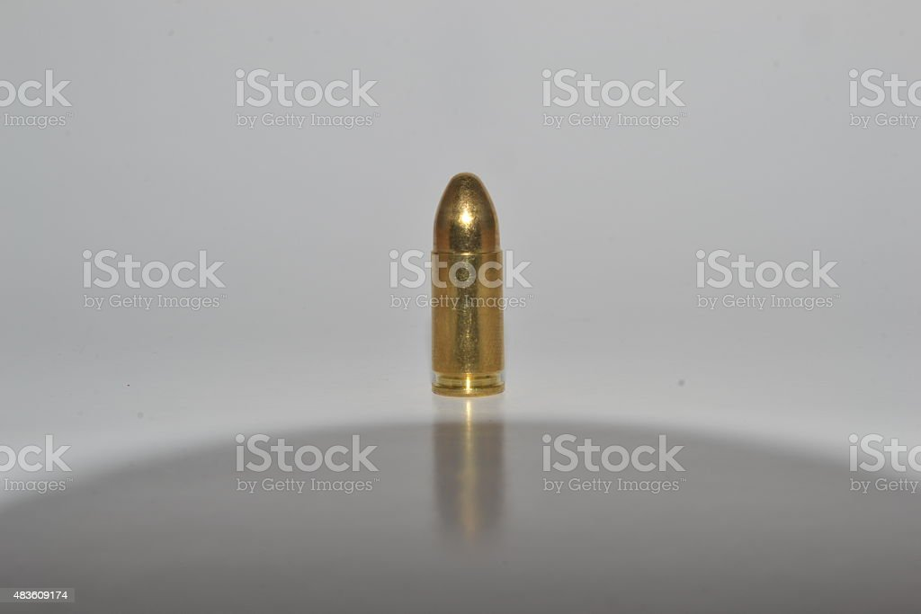 One 9mm stock photo
