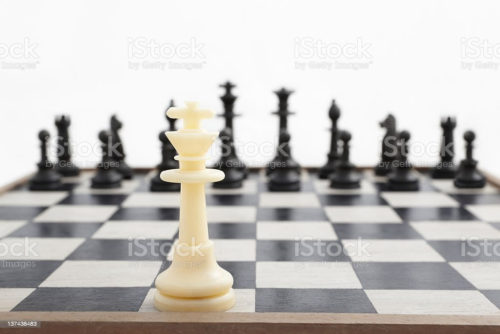 One against all odd royalty-free stock photo