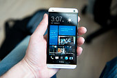HTC One – Android phone with aluminum body