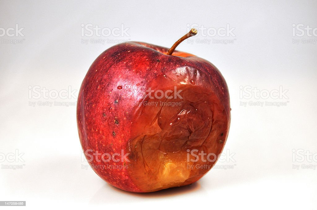 One Bad Apple royalty-free stock photo