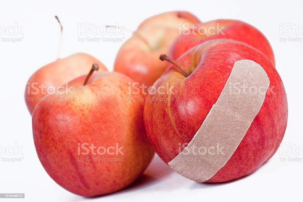 One Bad Apple stock photo
