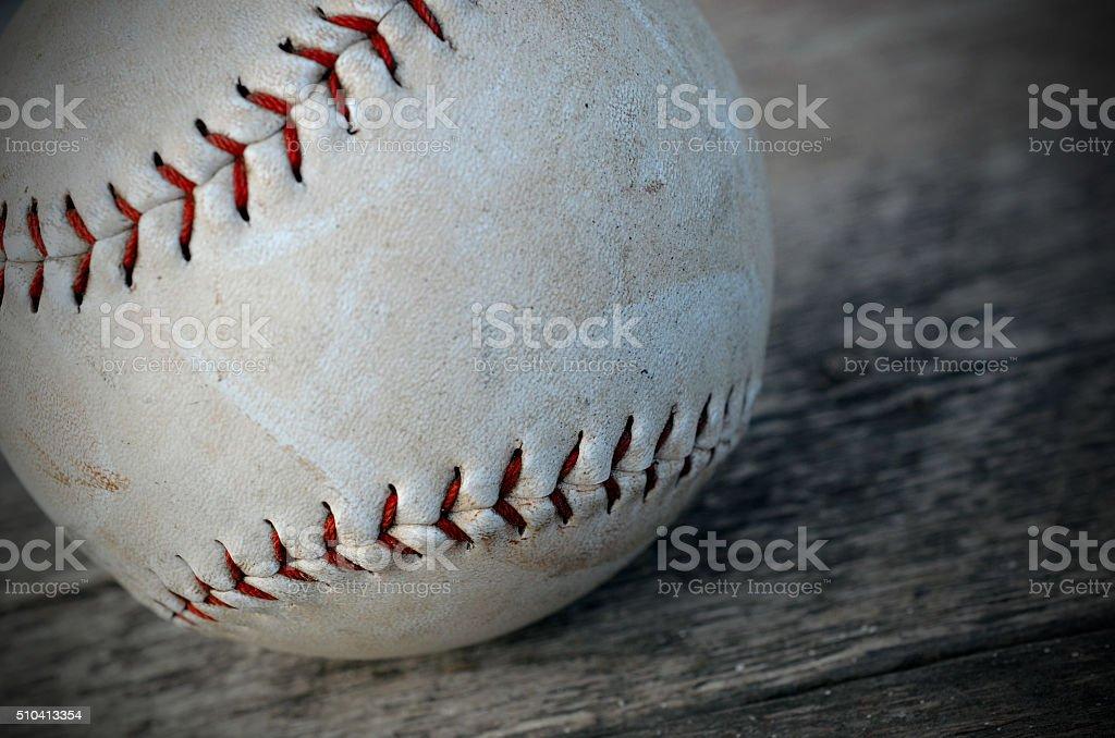 One Baseball stock photo
