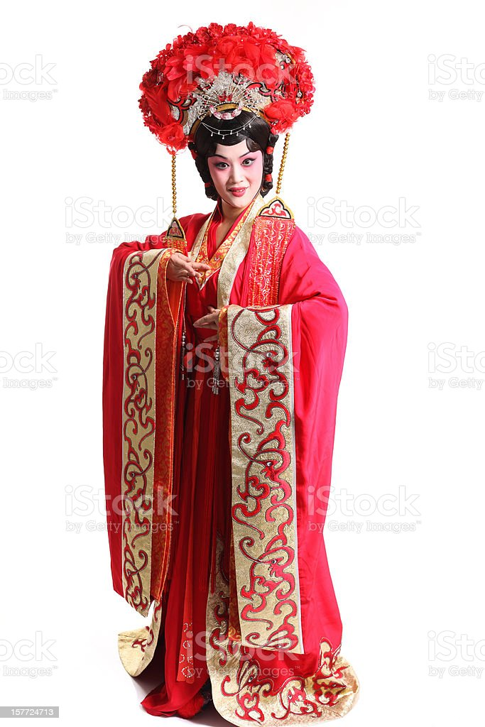 one Beijing opera actor stock photo