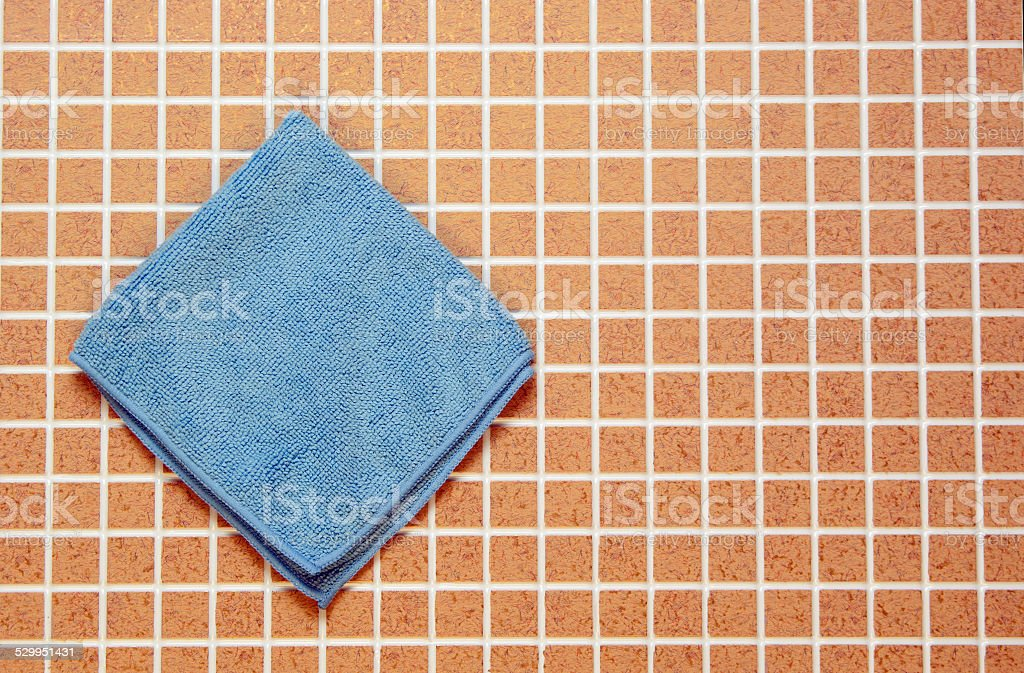 One blue cloth royalty-free stock photo