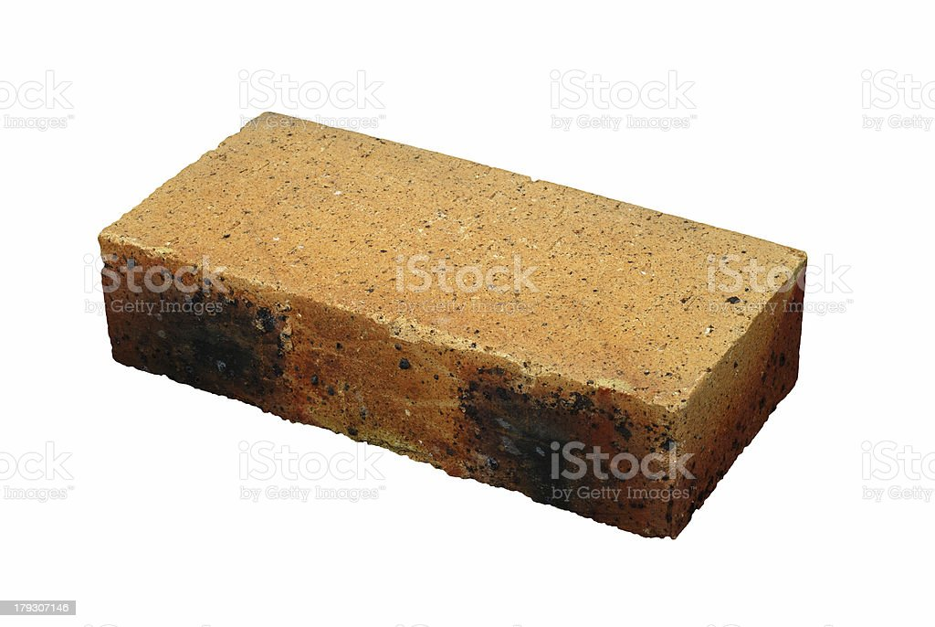 One Brick royalty-free stock photo