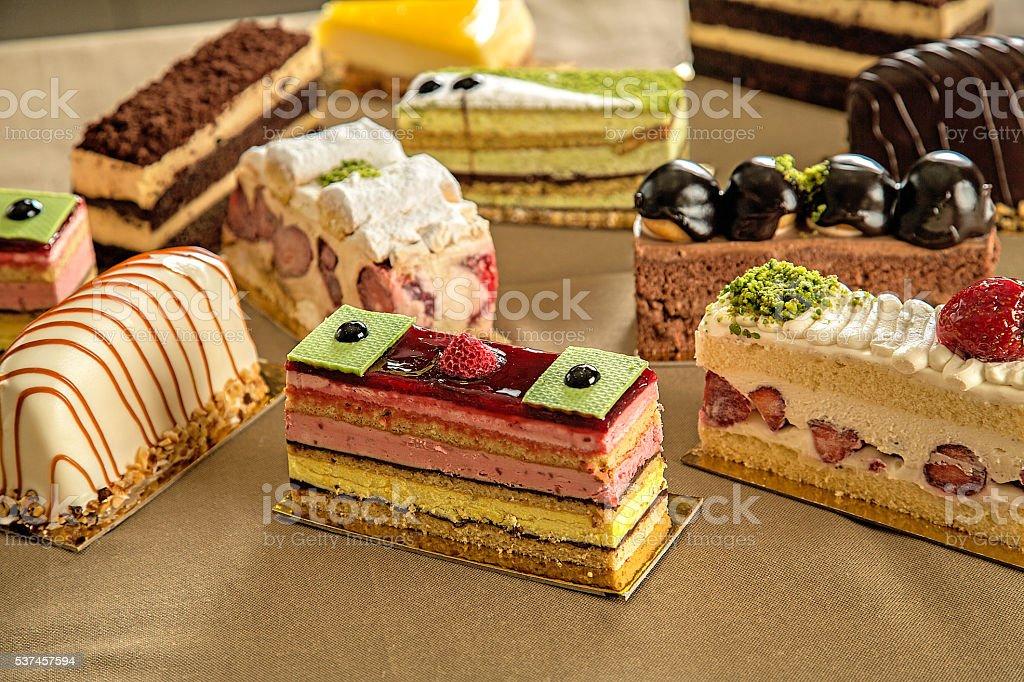 one cake stock photo