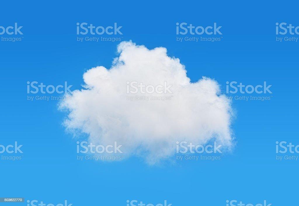 one cloud stock photo