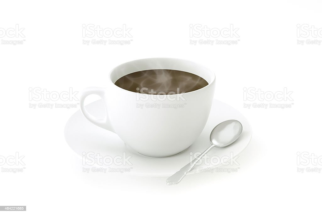 One coffee royalty-free stock photo