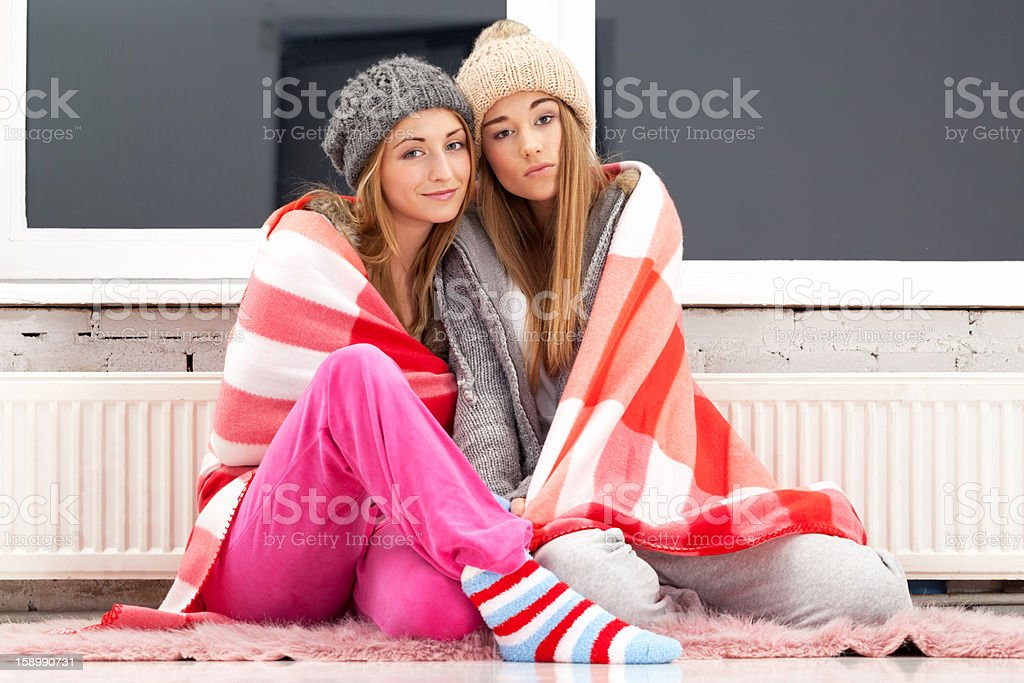 One cold evening royalty-free stock photo