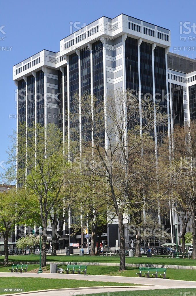 One Commerce Plaza in Albany, New York State stock photo
