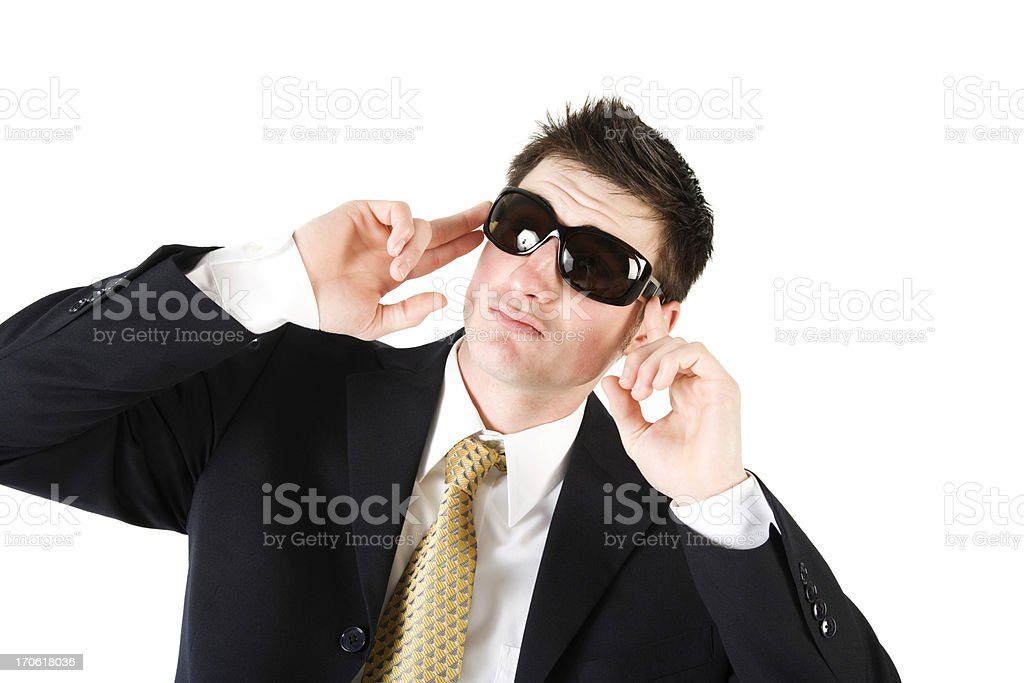 One cool dude! stock photo