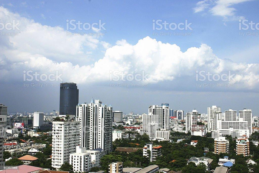 one day in bangkok royalty-free stock photo