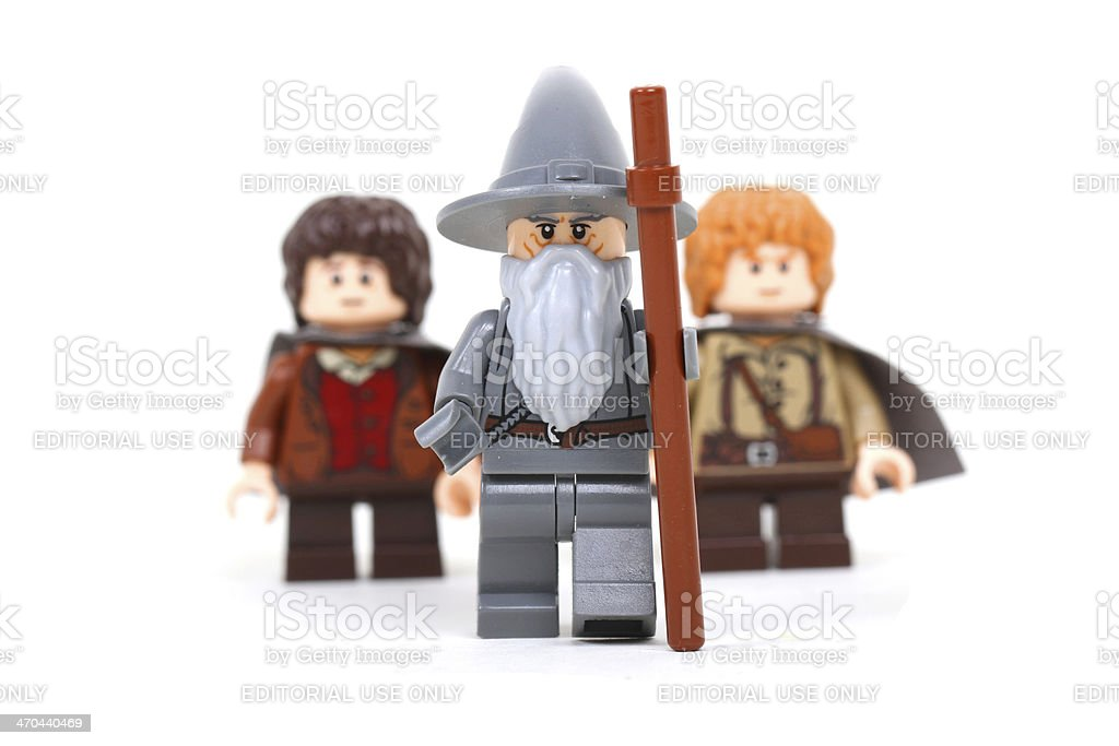 One Does Not Simply Walk Into Mordor stock photo