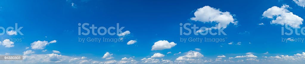 One eighty degree big sky royalty-free stock photo
