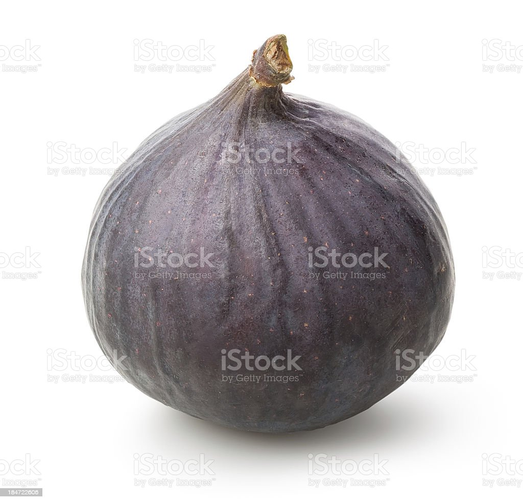 One figs royalty-free stock photo