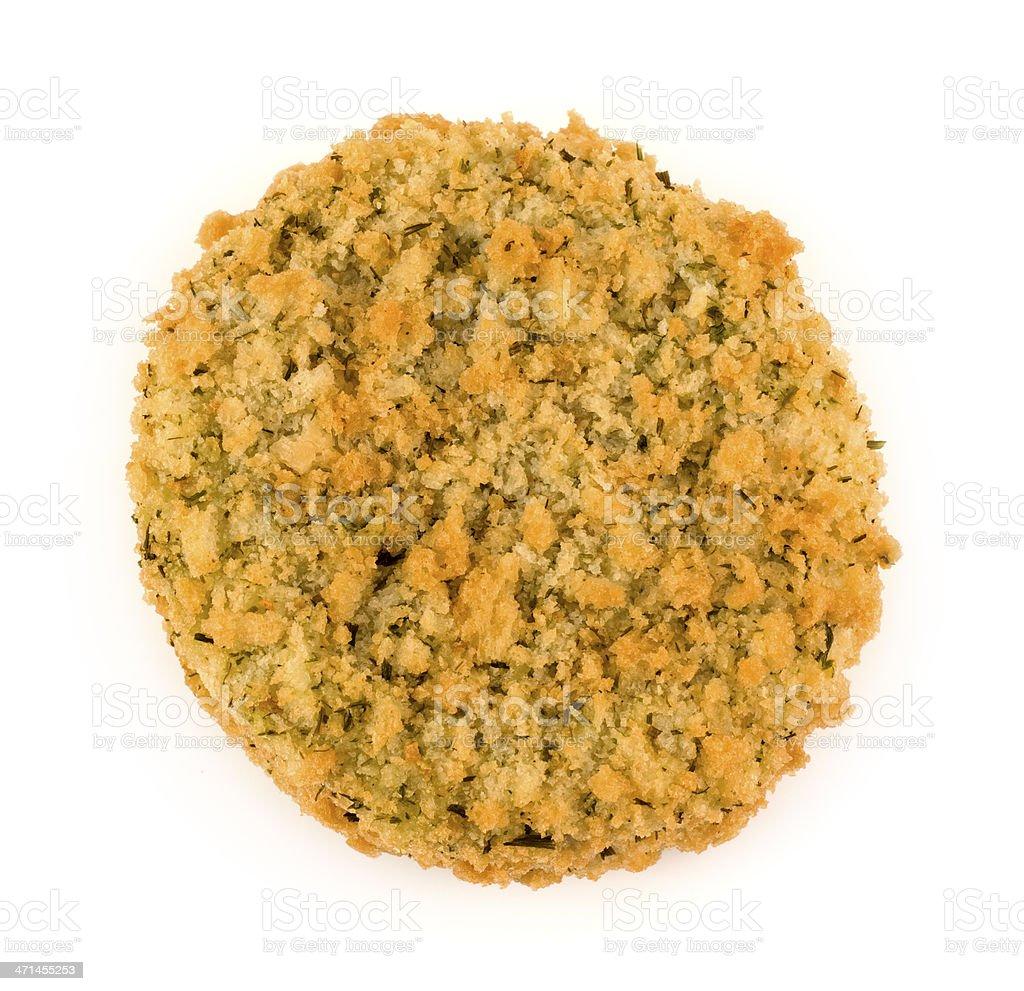 One Fishcake stock photo