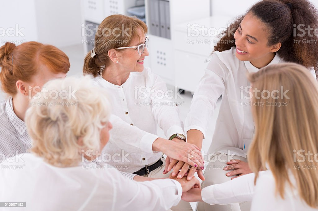 One for all, all for one stock photo