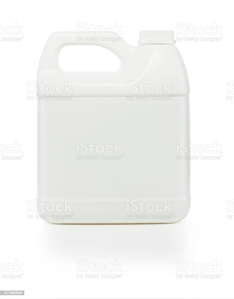 One Gallon Container stock photo
