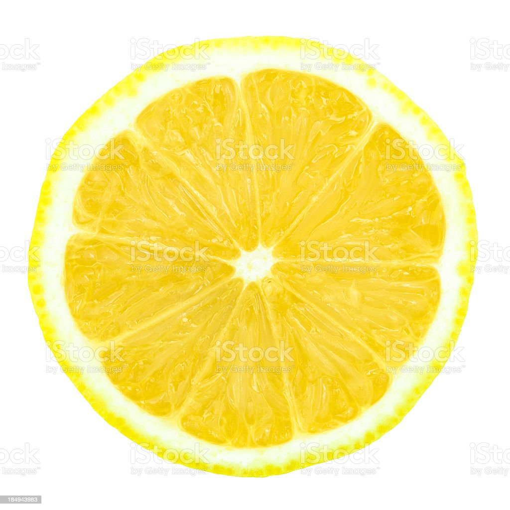 one half of \tlemon stock photo