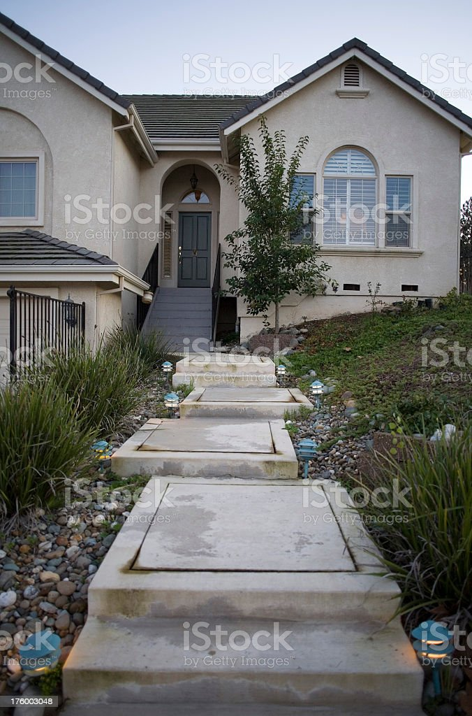 One House on Top royalty-free stock photo