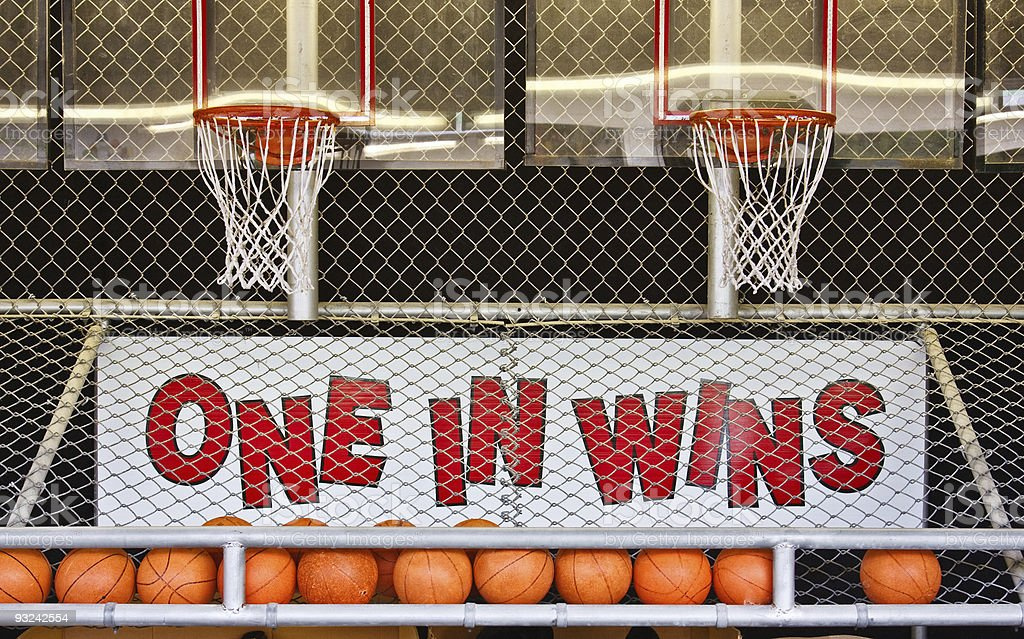One in Wins royalty-free stock photo