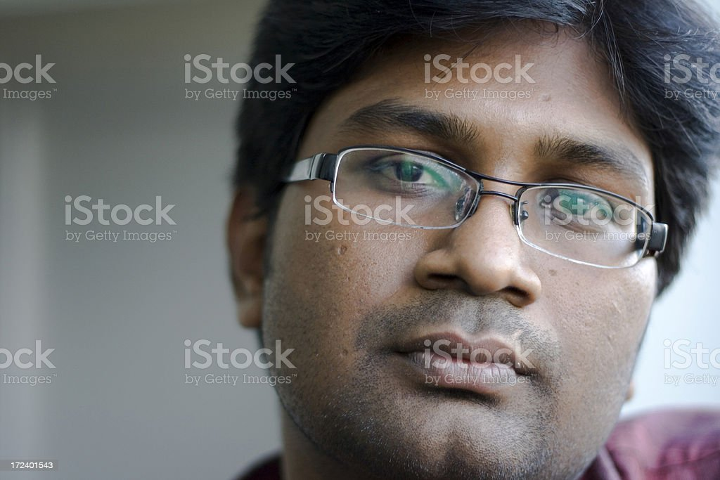 One Indian Asian Youth Male People Horizontal Outdoor royalty-free stock photo