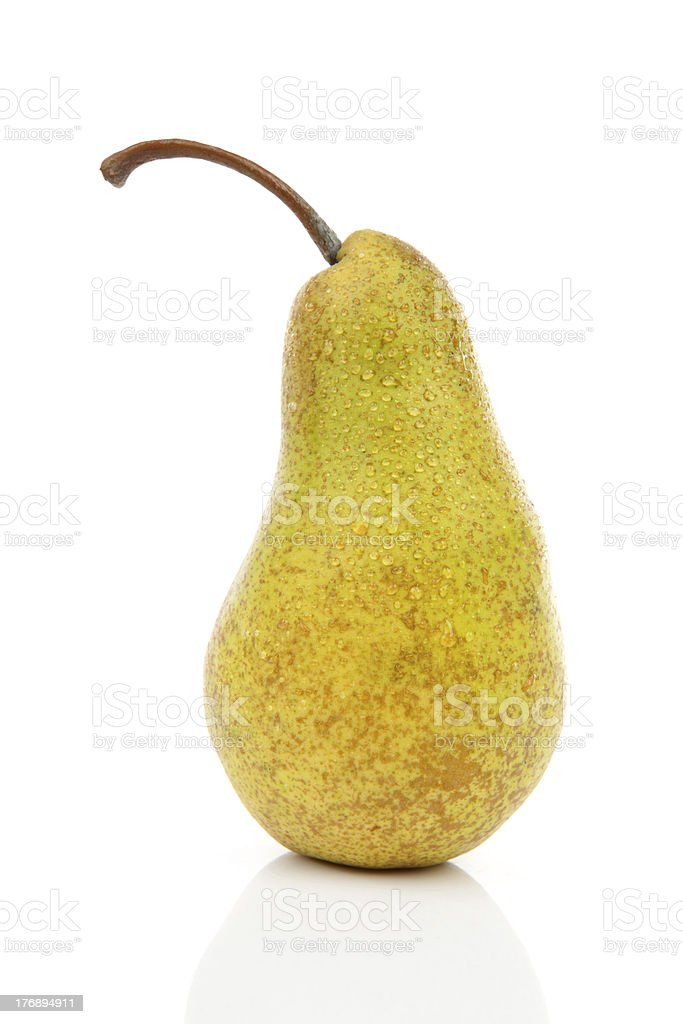 One juicy pear stock photo