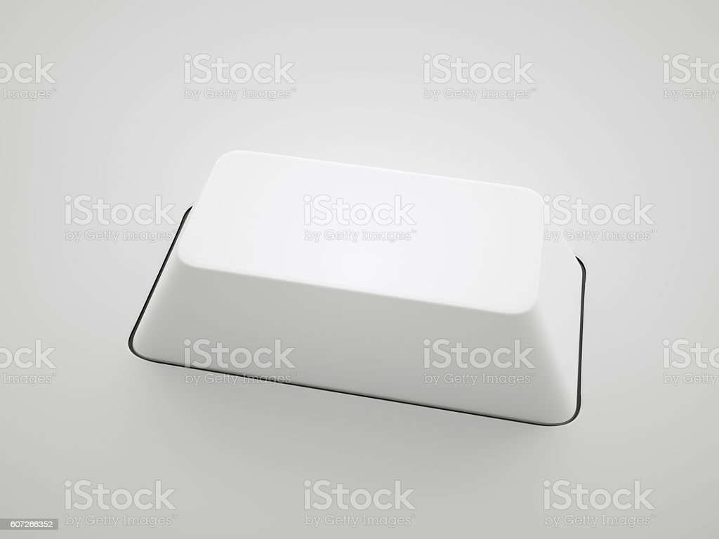 One Keyboard Key stock photo