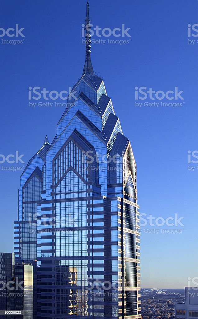 One Liberty Place royalty-free stock photo