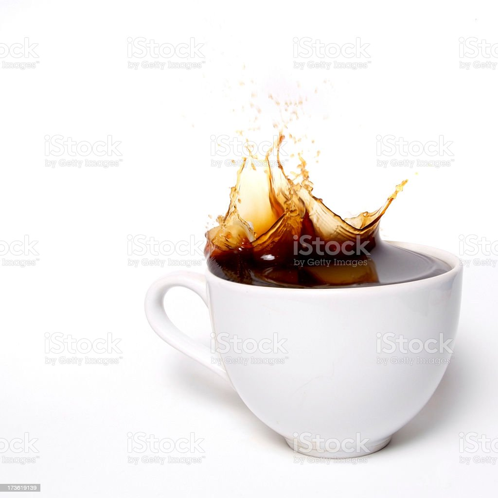 One lump or two? royalty-free stock photo